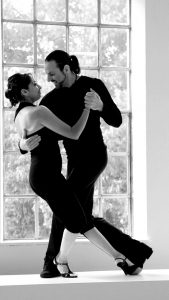 Ilias & Laura, Tango Orange, Hamburg. Rolfing Praxis Annette Martiny